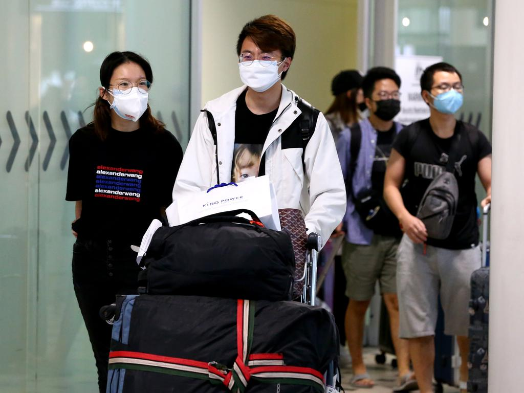 Health experts have said that it is not always necessary to wear a face mask. Picture: AAP