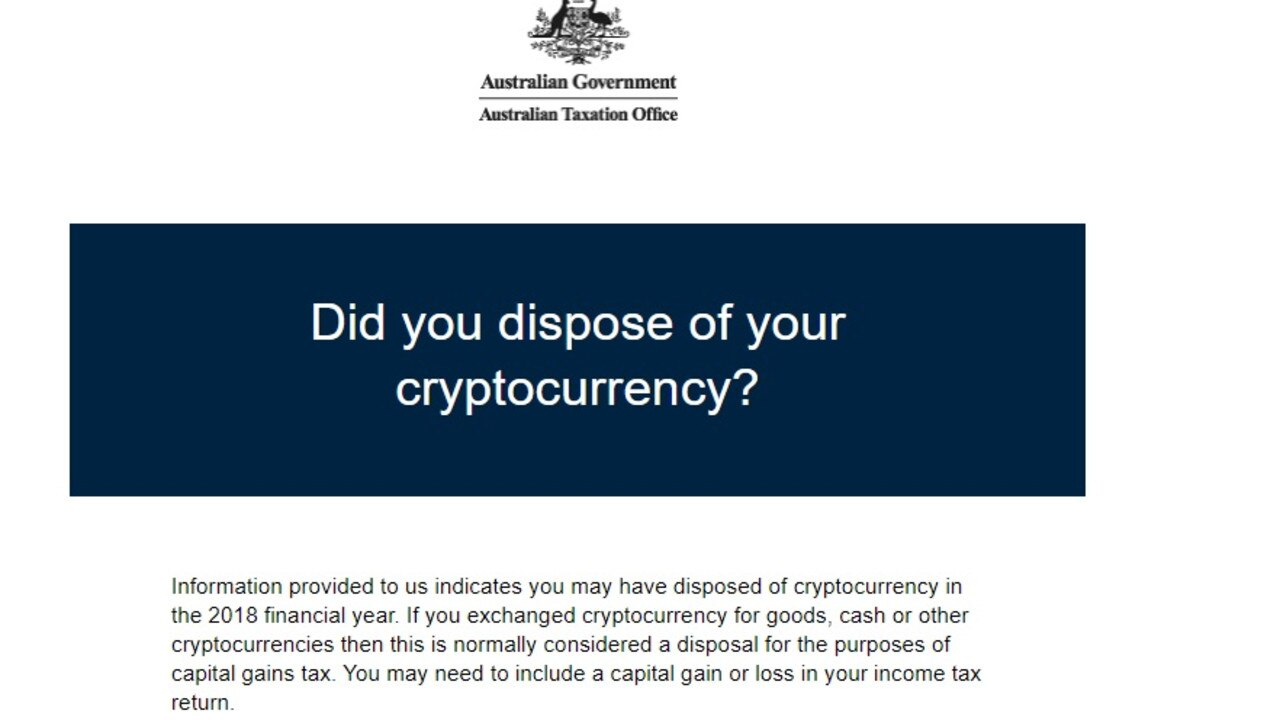 The ATO is now coming after crypto investors.