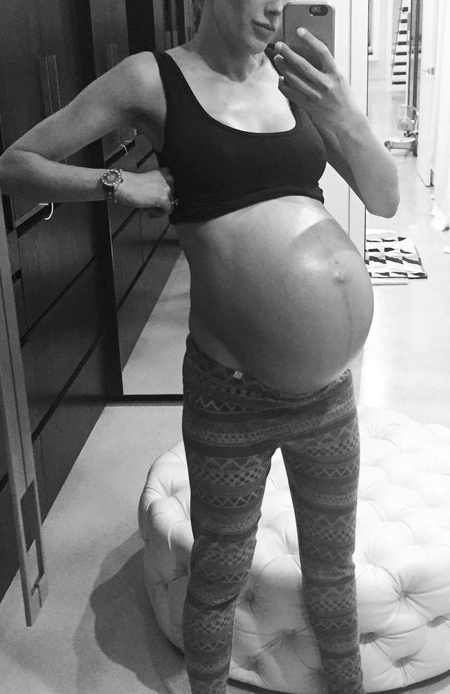 Judd said previously she hoped by speaking openly about pregnancy and motherhood, it might help others. Picture: Instagram/Bec Judd