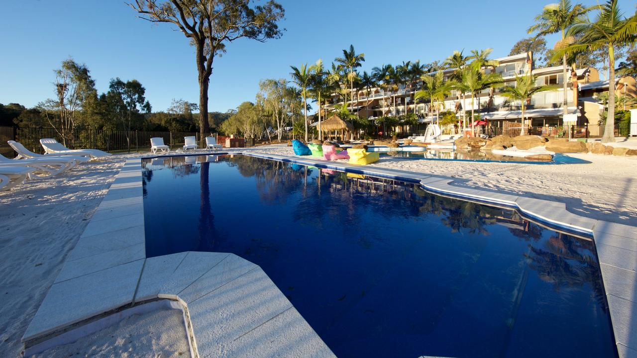 The pool at Ramada Resort Kooralbyn Valley.