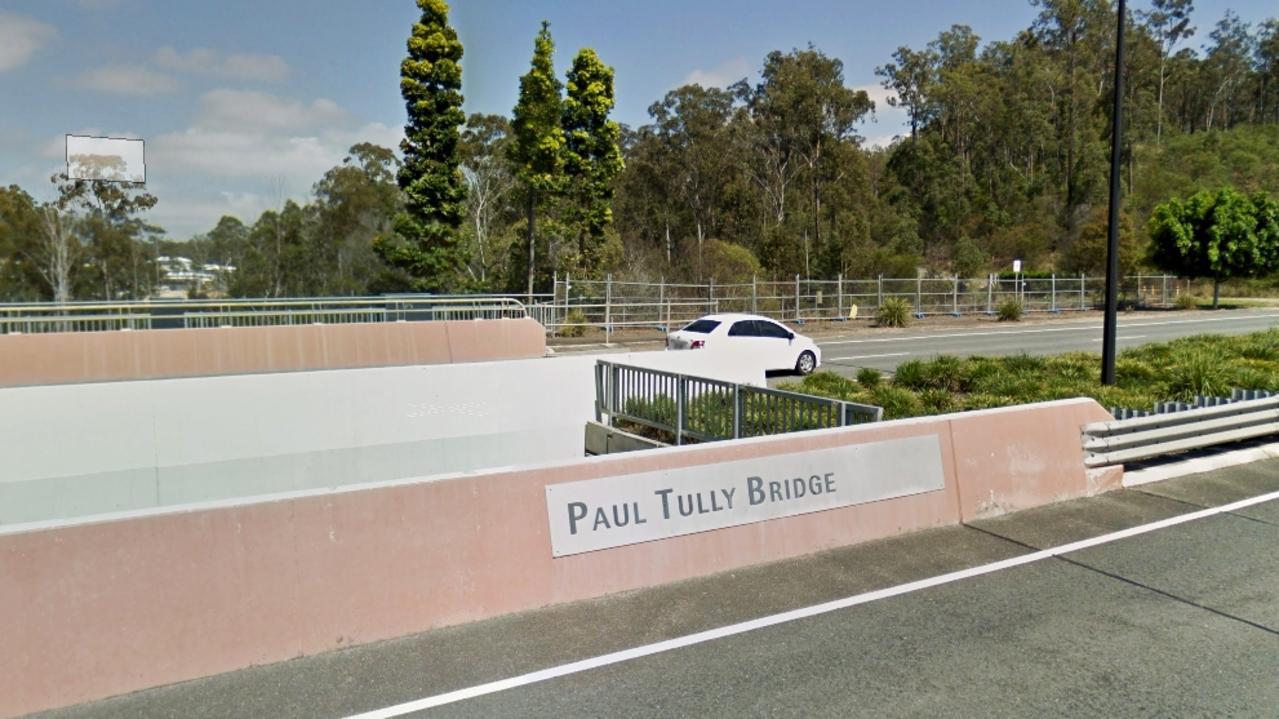 Paul Tully Bridge in Springfield Central. Photo: Google Maps