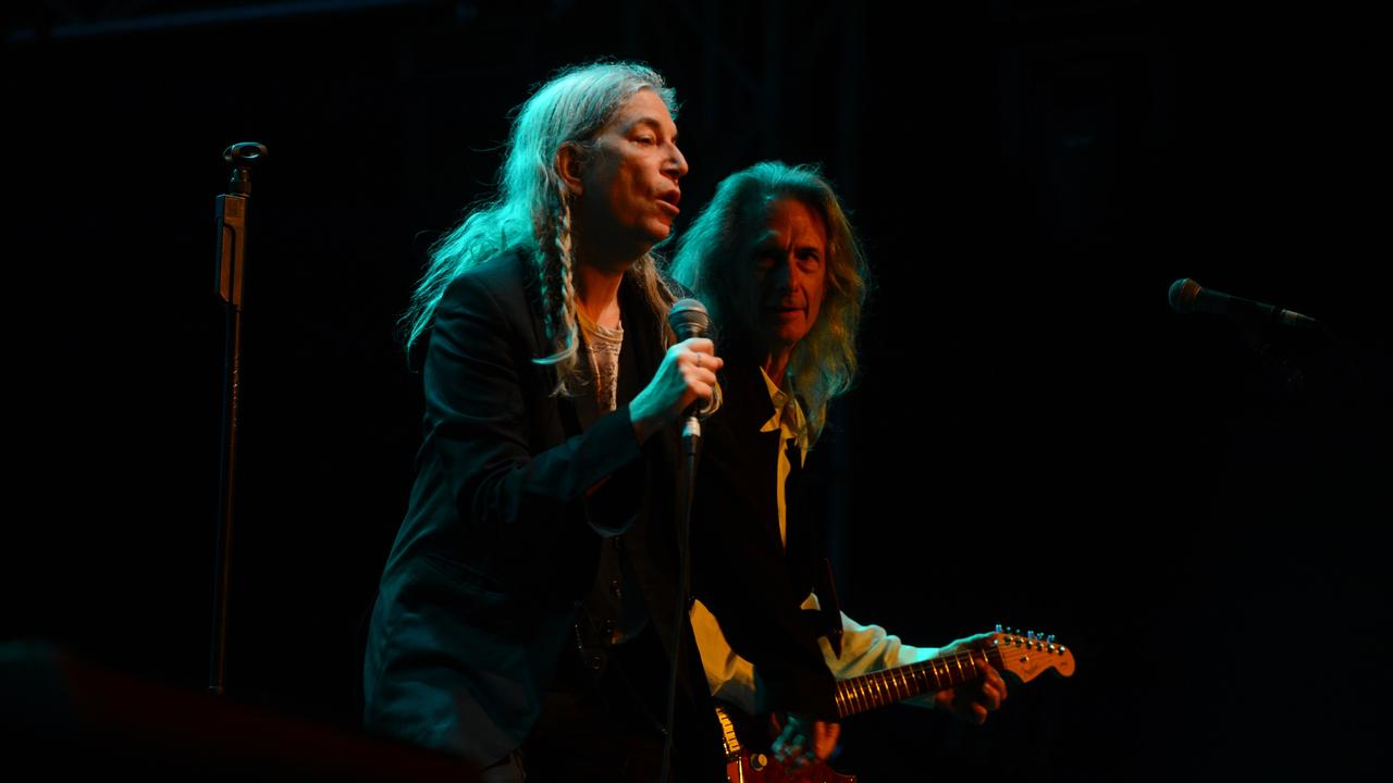 Patti Smith at Bluesfest 2017. The artist is in the line up for the 2020 version of the festival.