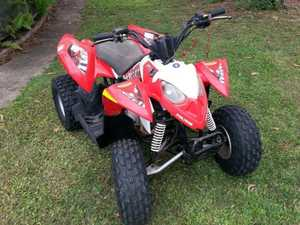 Attempted sale of stolen quad at road house