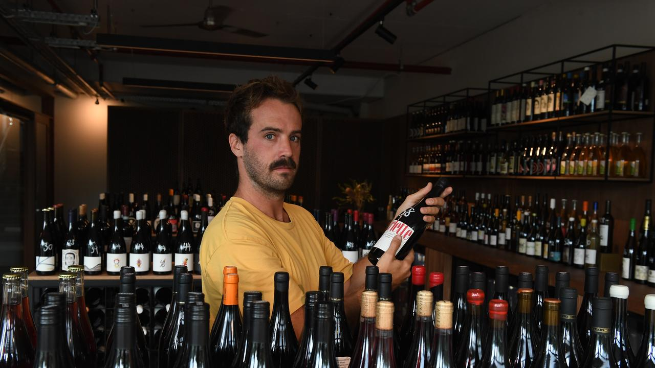 Luna Wine Store is a joint venture between Russ Berry (pictured), James Audas and Tom Sheer in Byron Bay on Jonson Street.