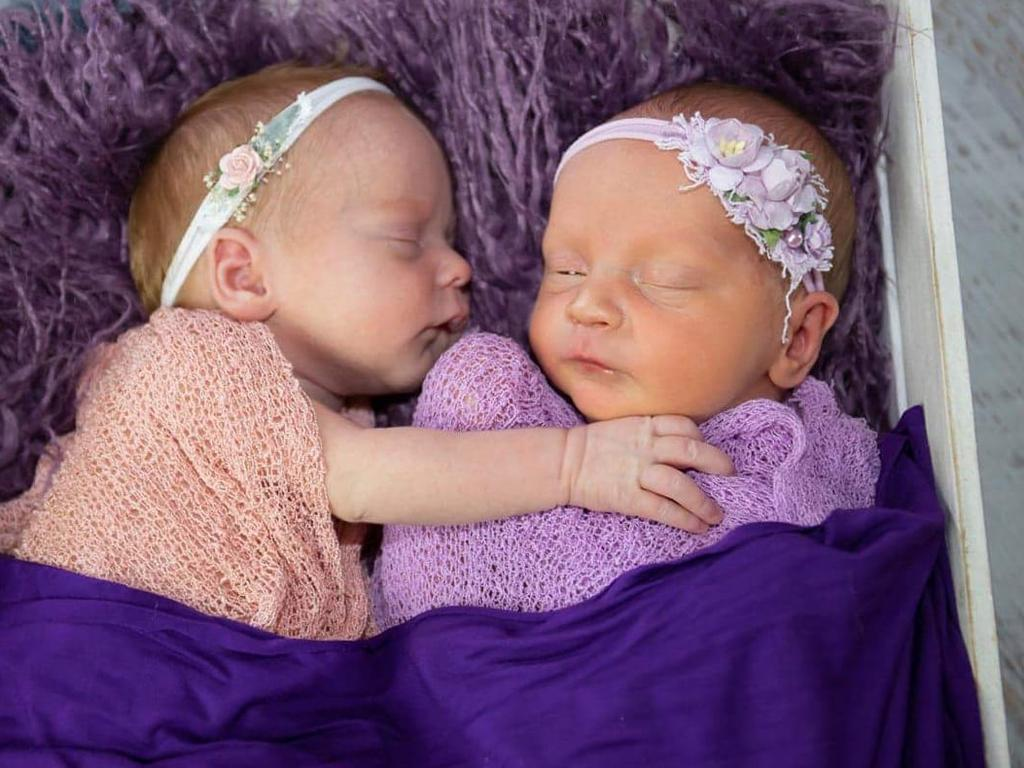 Maddix-Rose Violet Law and Memphis Rayne Law were born at Mackay Base Hospital on January 29 weighing 2490g and 2300g. They are the daughters of Stephanie Chilmaid and Richard Law and little sisters for Tammie-Lee, Areia-Maree and Bailee. They are the granddaughters of Debbie and Trevor Chilmaid and Colleen and Richard Law.