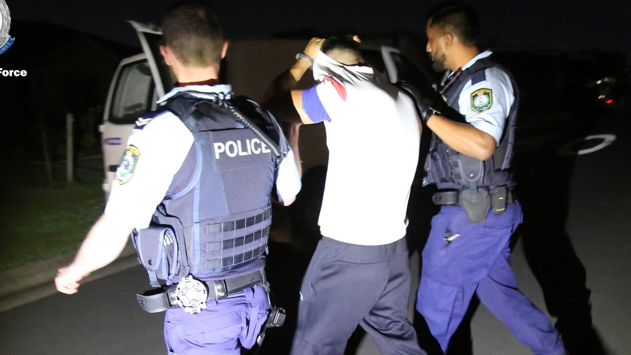 Detectives have arrested two men as part of an ongoing investigation into an alleged kidnapping for ransom and serious assault of another man in Sydney's west last year.