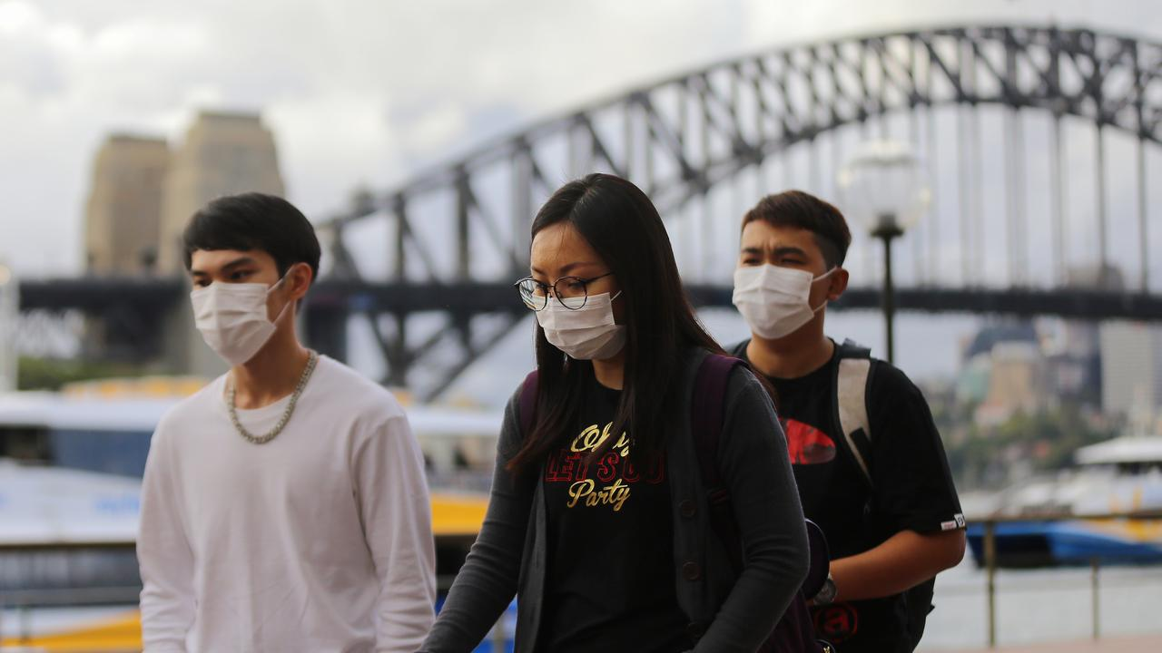 More than 100 cases of the COVID-19 virus have been confirmed in Australia. Picture: AAP/Steven Saphore