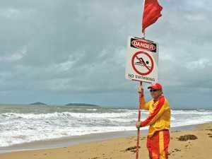 Dangerous conditions close Mackay beach