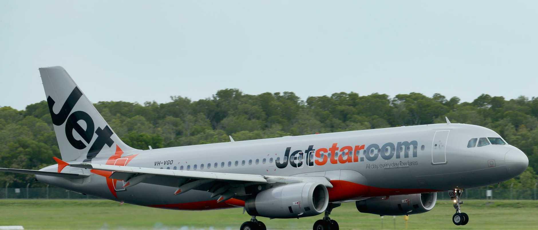 Aircraft at Cairns Airport