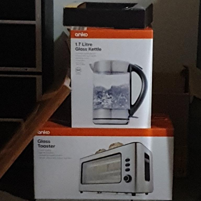 Kitchenware from Kmart features an orange colour code. Picture: Kmart Hacks & Decor