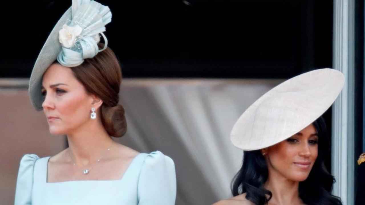 Kate Middleton and Meghan Markle have long been rumoured to be at loggerheads. Picture: Supplied
