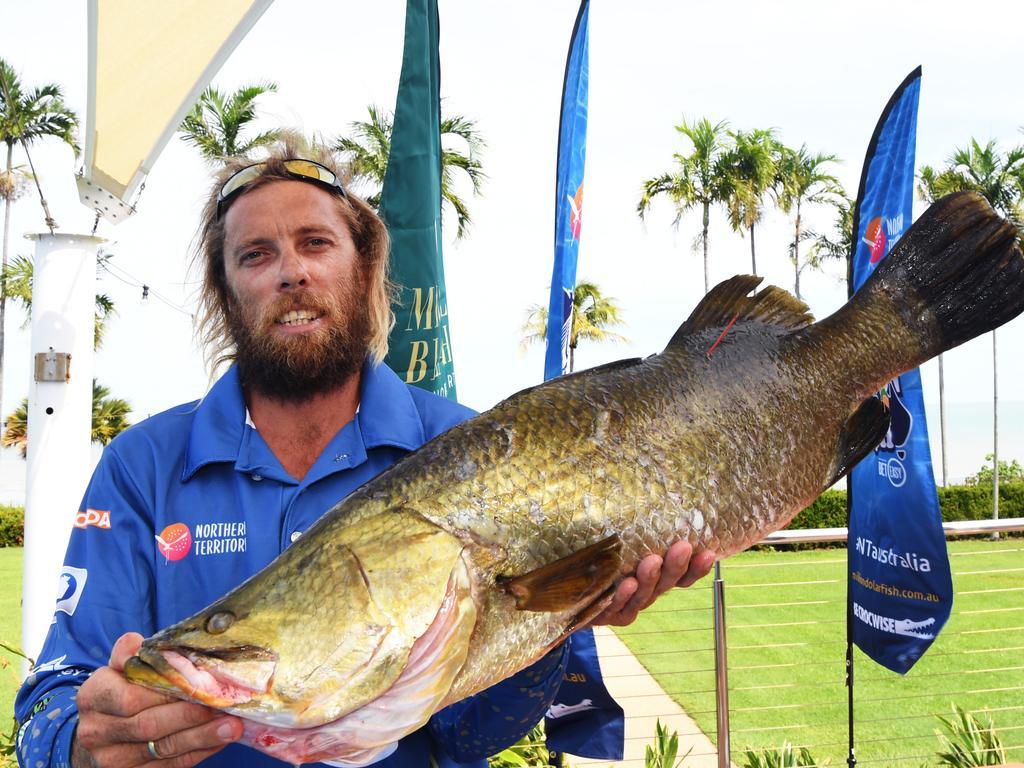 Territorian Jethro Kahler has become the fifth fisherman to win big through BetEasy's Million Dollar Fish Season 5 competition. Picture: KATRINA BRIDGEFORD.