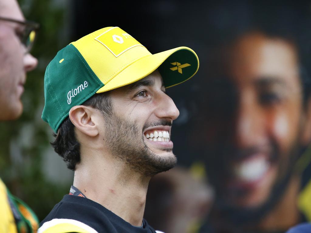 Australian F1 star Daniel Ricciardo