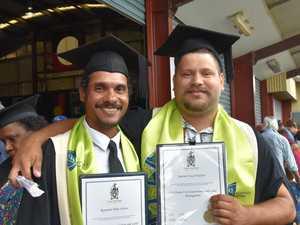 Proud Woorabinda students graduate from CQUniversity