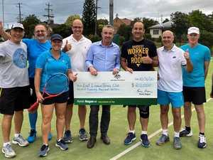 Huge effort shines a light on love for tennis