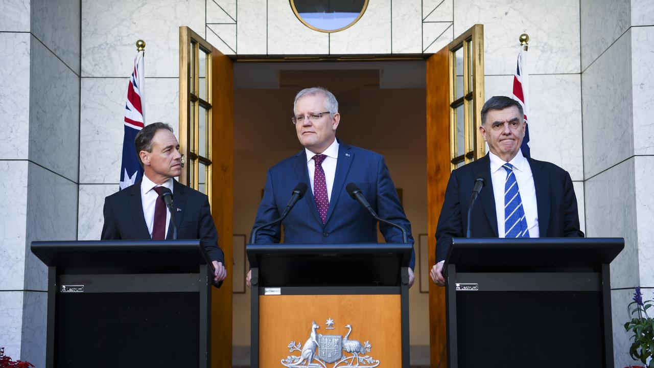 The stimulus package is focused on supporting employers and keeping people in jobs. Picture: AAP/Lukas Coch