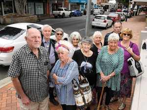 Furious pensioners revolt over CBD parking fines