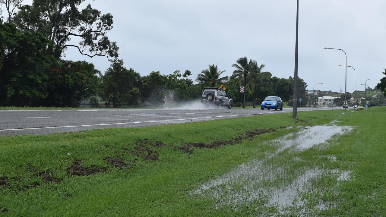 Wet weather to continue in the Whitsundays.