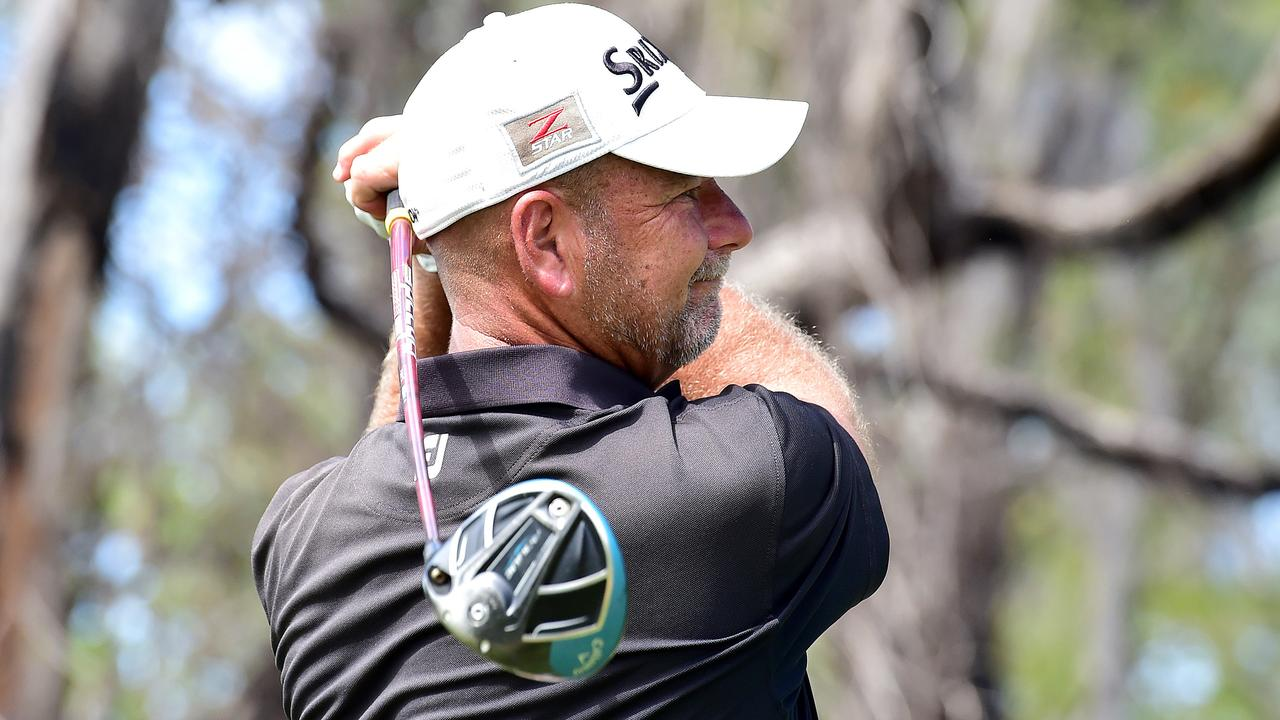 IN FORM: Professional golfer Brad Burns. Picture: Shae Beplate