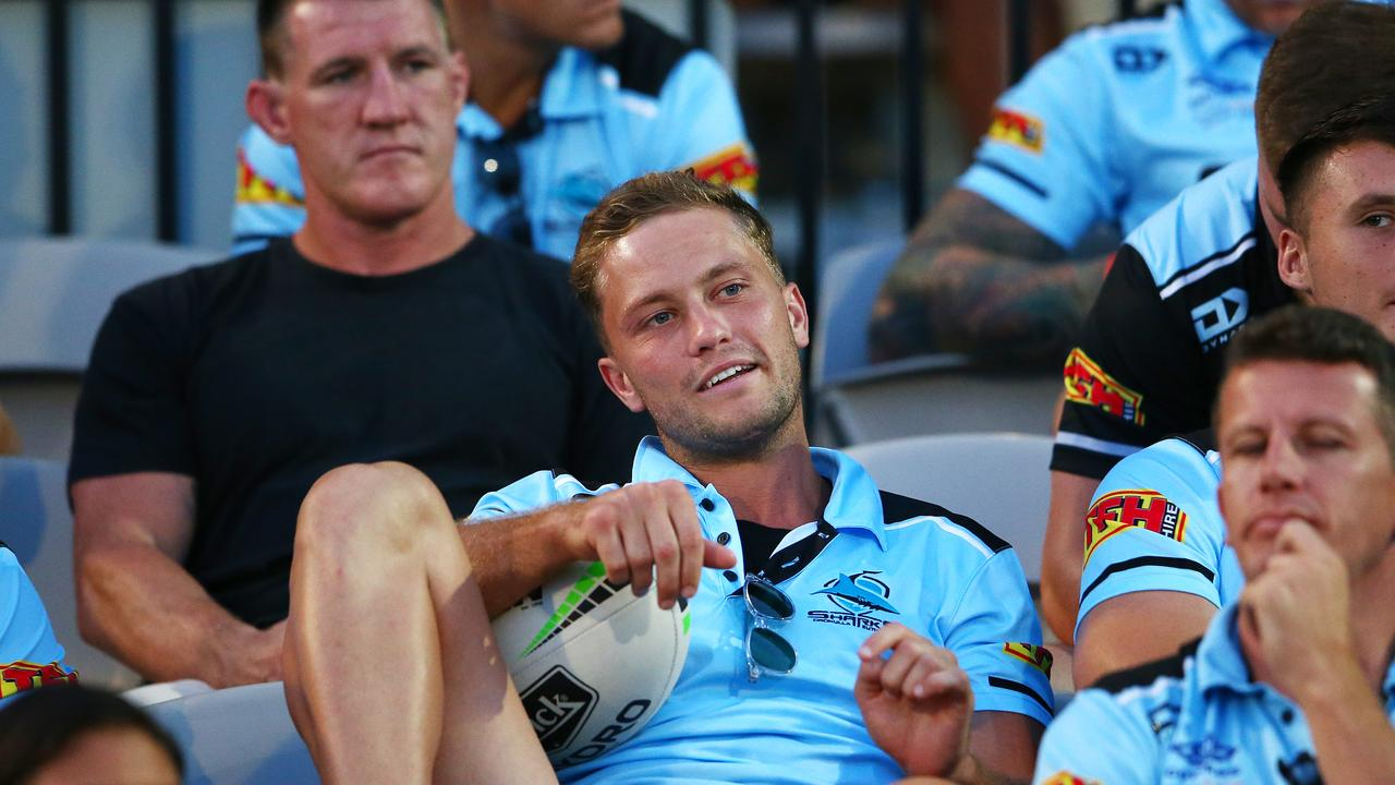 Matt Moylan looks on during the NRL trial match between the Sharks and the Sea Eagles at Sydney's Netstrata Jubilee Stadium on March 01. Picture: Matt Blyth/Getty Images)