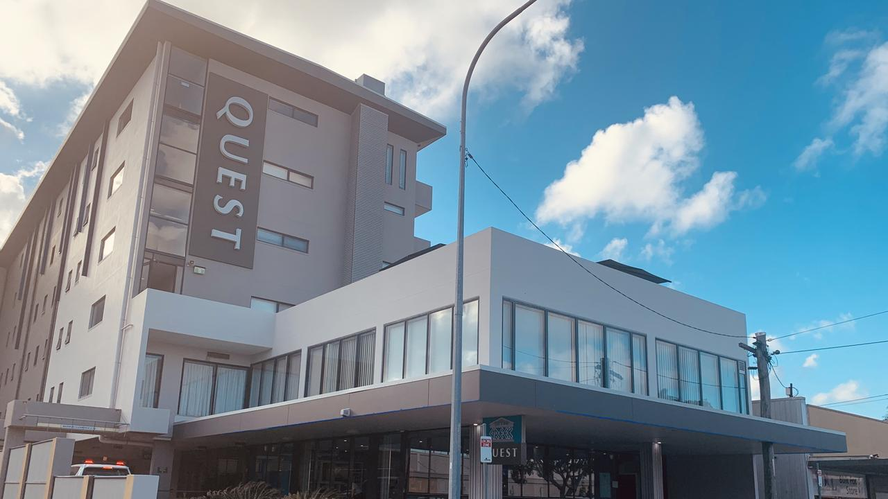 The Quest Hotel on Macalister Street in Mackay's CBD.