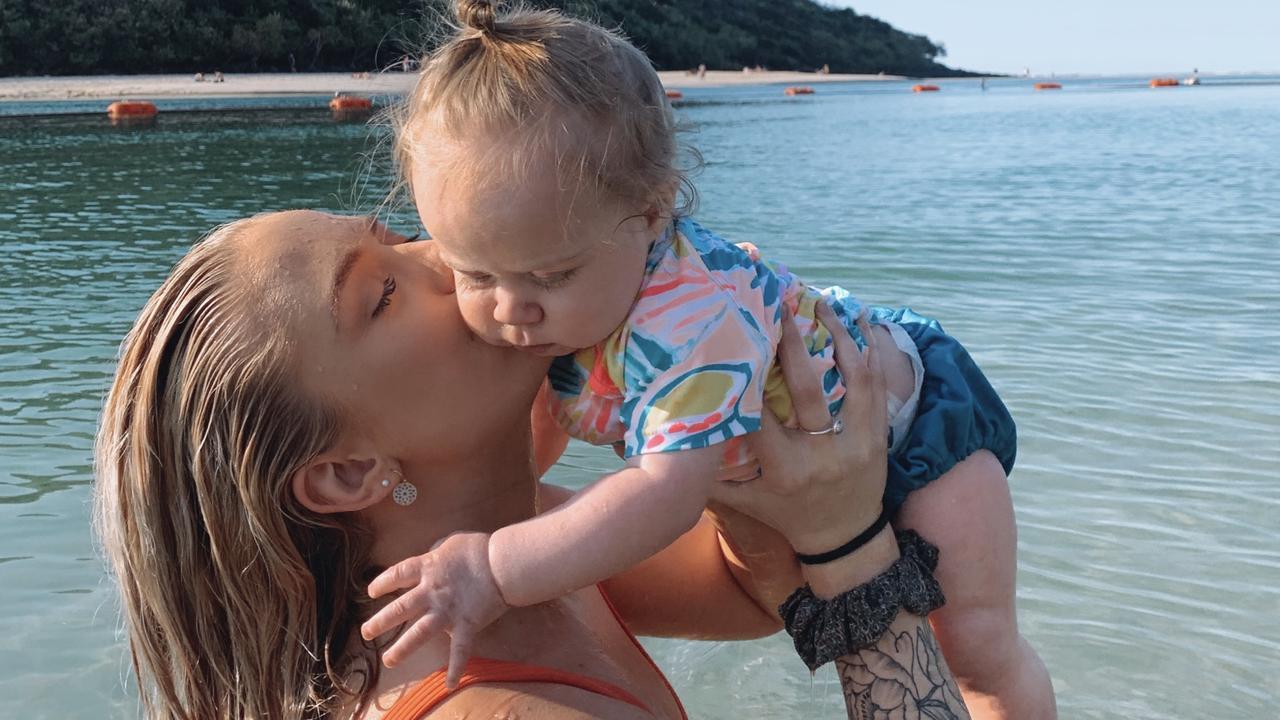 Olivia Treherne and her daughter Marli Gerrard.