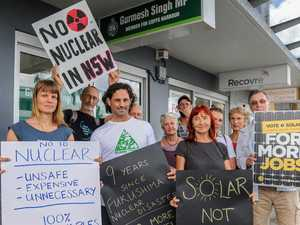 Nuclear is too risky say protesters