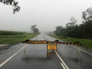 FLOODING: Water rises over more Whitsunday roads