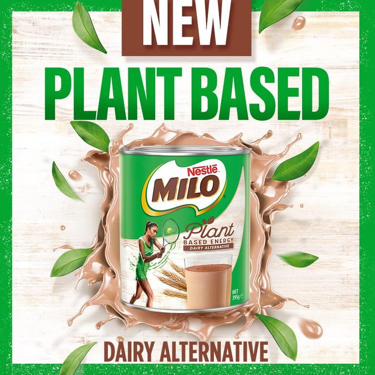Milo has launched a plant-based version of its famous drink. Picture: Facebook.