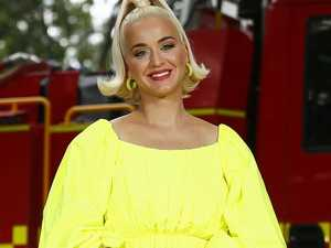 Pregnant Katy Perry stuns at bushfire gig