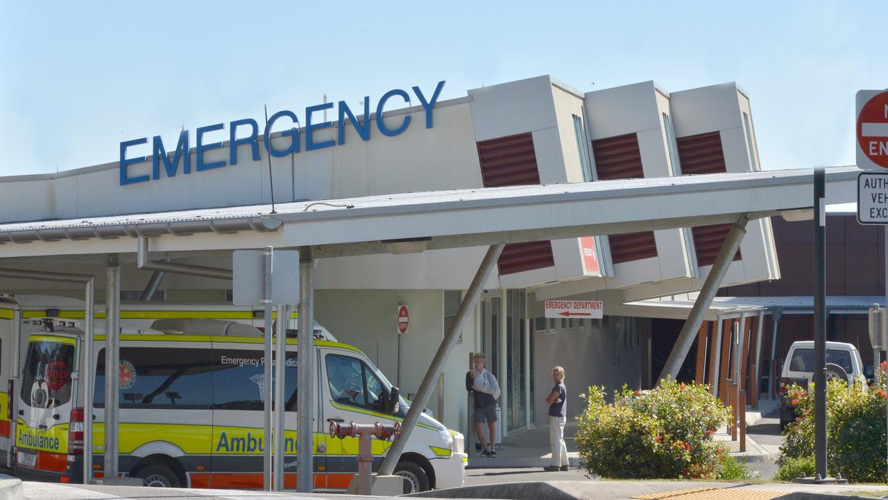 Three people have been taken to Gympie Hospital after a vessel reportedly capsized at Inskip Point this afternoon. Photo Tanya Easterby / The Gympie Times