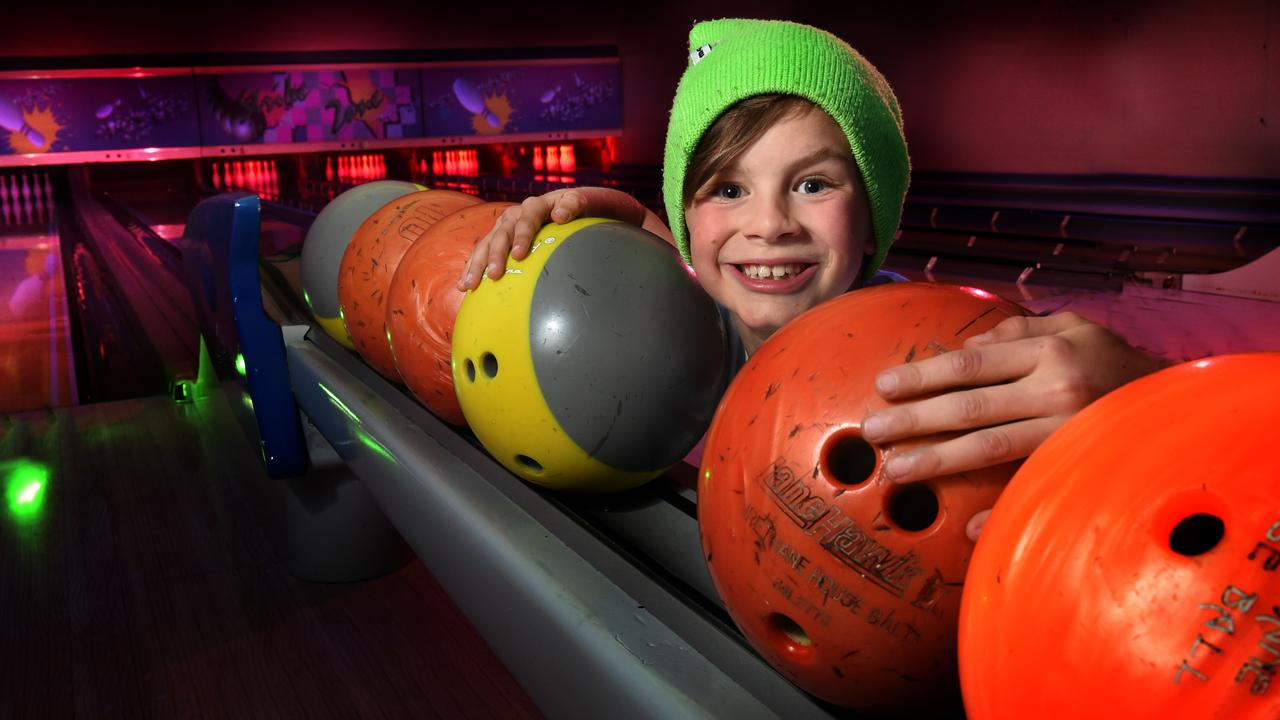 Kids can try their hand at beating their parents at bowling with two games for $13 this Friday, March 13 at Mackay Leisure Centre. Picture: Tony Gough