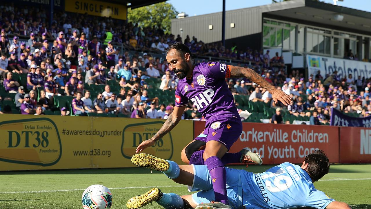 The Glory need Diego Castro to step up if they are to beat Sydney FC. Picture: Paul Kane/Getty Images