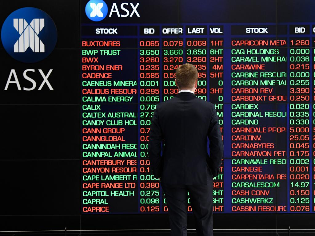 Australian investors could see another 3.5 per cent wiped off the share market after US equity markets plunged overnight. Picture: AAP