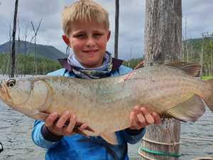 Family affair at Borumba TAG-A-TOGA fishing comp