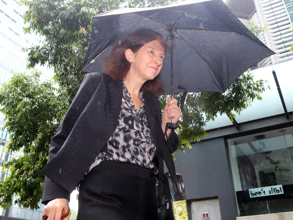 Former chief scientist Suzanne Miller outside court this week. Picture: Richard Gosling/AAP