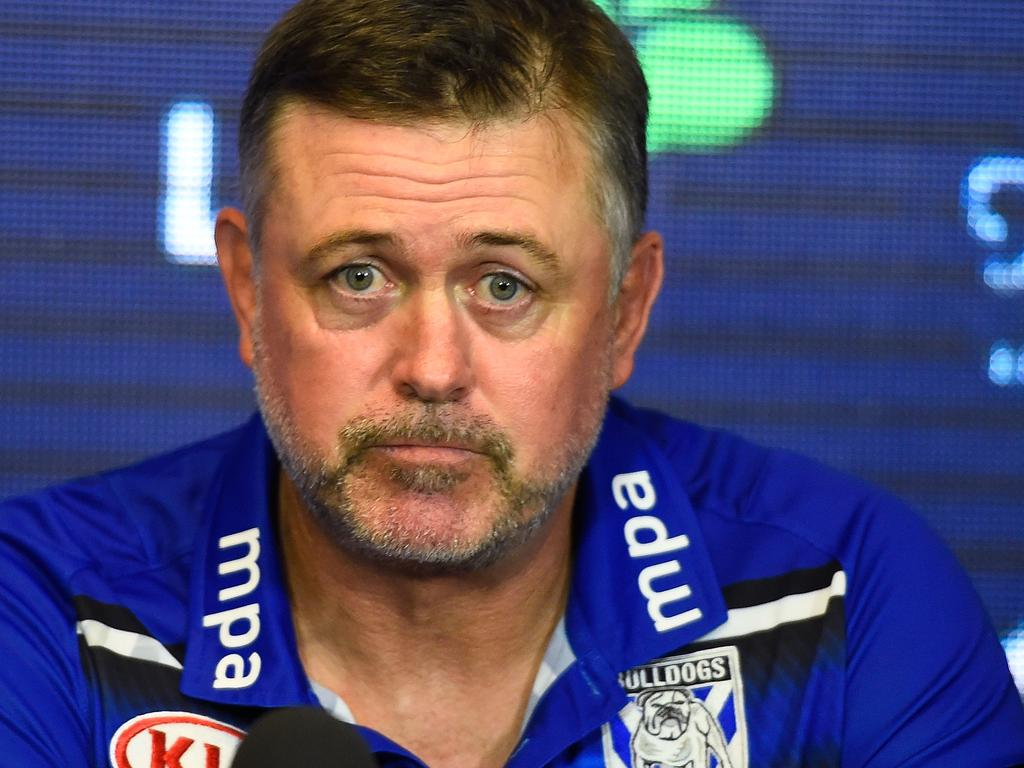 MPA, which sponsored Bulldogs coach Dean Pay (pictured) and his staff, has pulled out of their deal. Picture: Getty Images