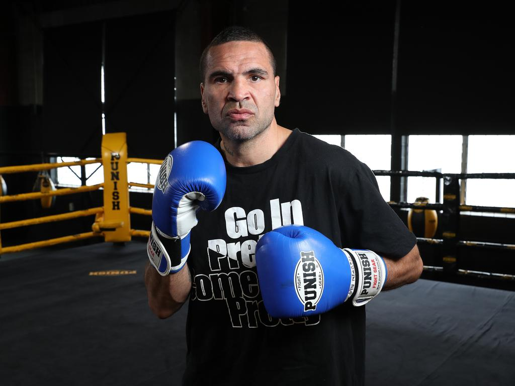 Some people suggested Mundine had taken too many punches to the head.