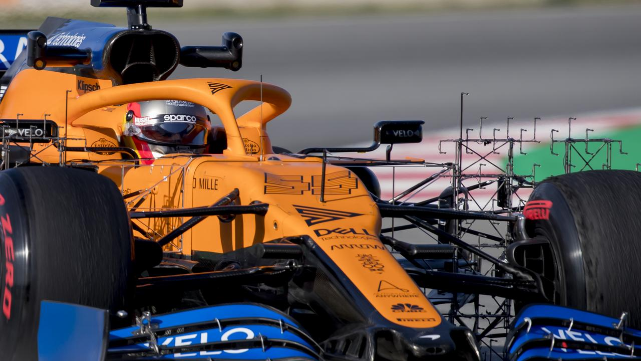 McLaren won't compete in the Melbourne Grand Prix this weekend. Picture: AP