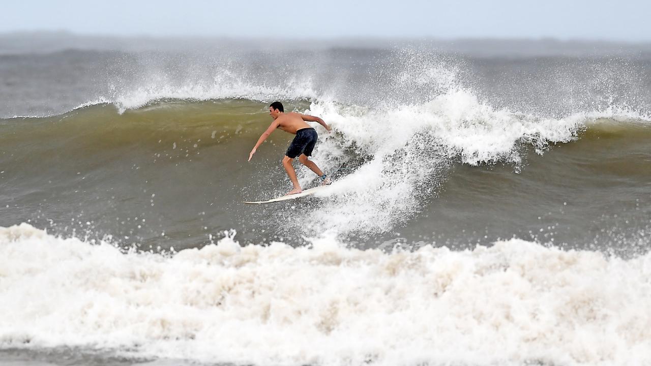Wave of the day at Alexandra Headland. Photo Patrick Woods / Sunshine Coast Daily.