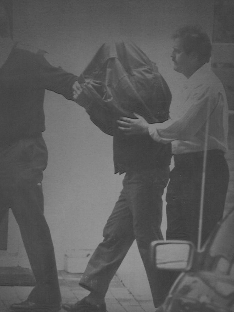 Frank Abbott's arrest in 1991.