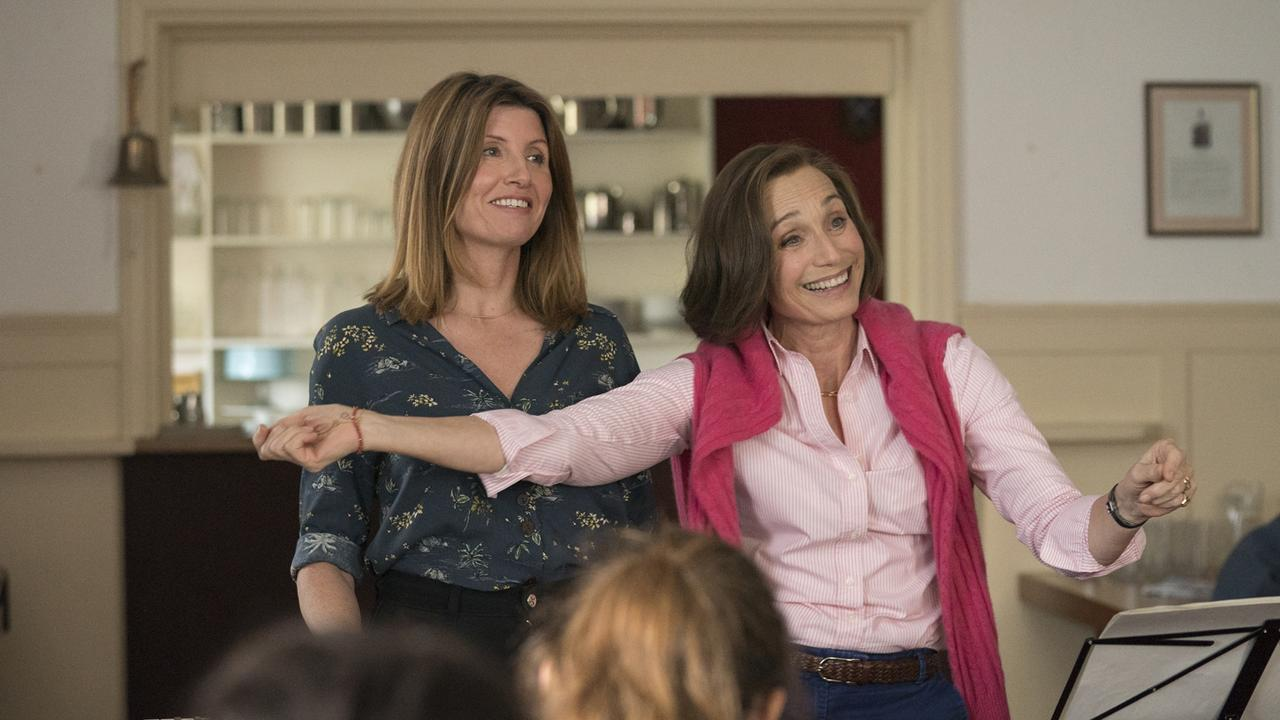 Sharon Horgan and Kristin Scott Thomas play rivals-of-sorts, but both have good intentions.