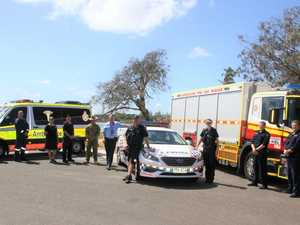 Emergency services on display at expo