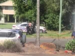 Police arrest man after car spiked