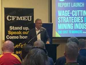 Anthony Albanese talks mining casualisation in Mackay