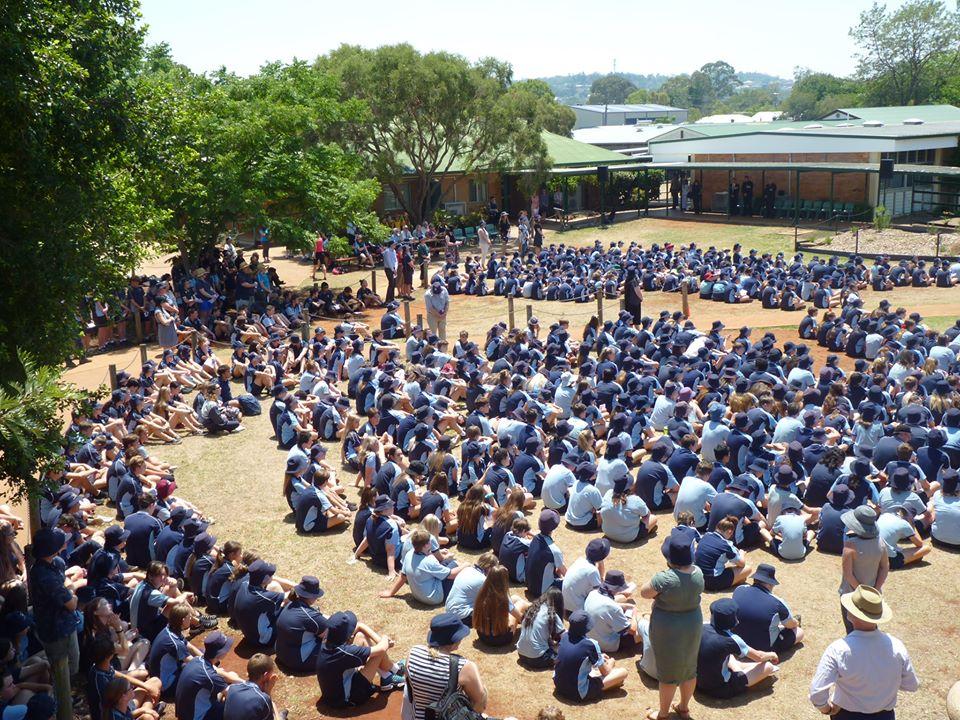 NO TRAVEL: Overseas school trips have been put on hold due to coronavirus. Photo: Kingaroy State High School Facebook