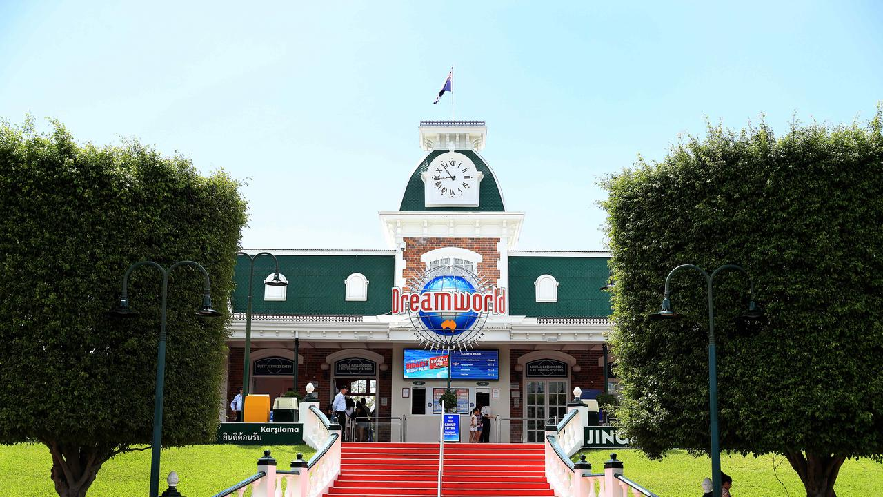 Dreamworld remains open for business. Picture: Adam Head.
