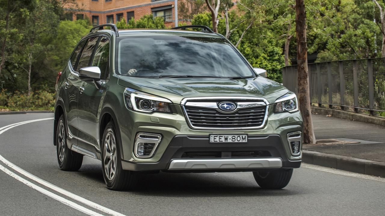 The Forester Hybrid is sold out for the first two months.