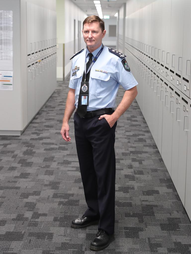 Chief Superintendent Mark Wheeler. Picture: Glenn Hampson.