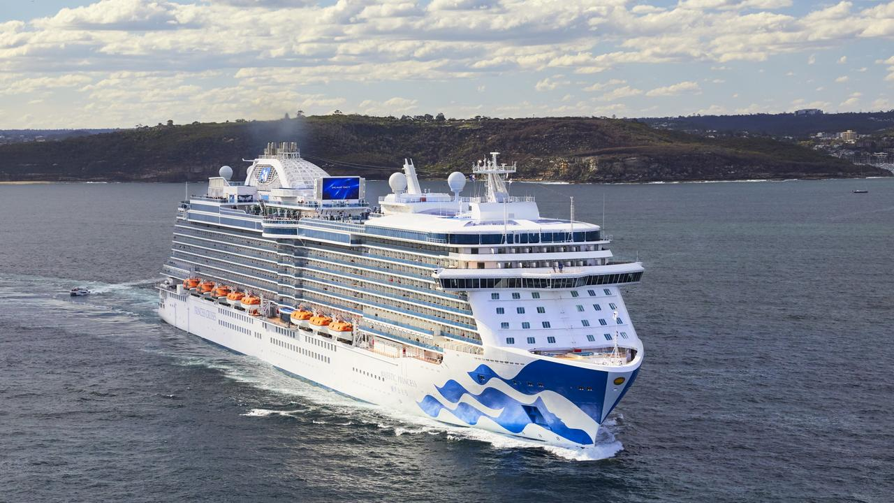 Princess Cruises is suspending all cruises globally for two months.